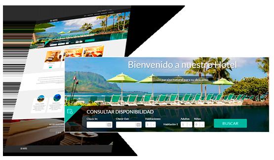 DISEÑO PÁGINAS WEB PARA HOTELES, HOSTALES Y APARTAMENTOS